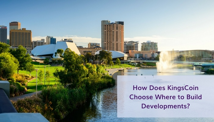 How Does KingsCoin Choose Where to Build Developments?
