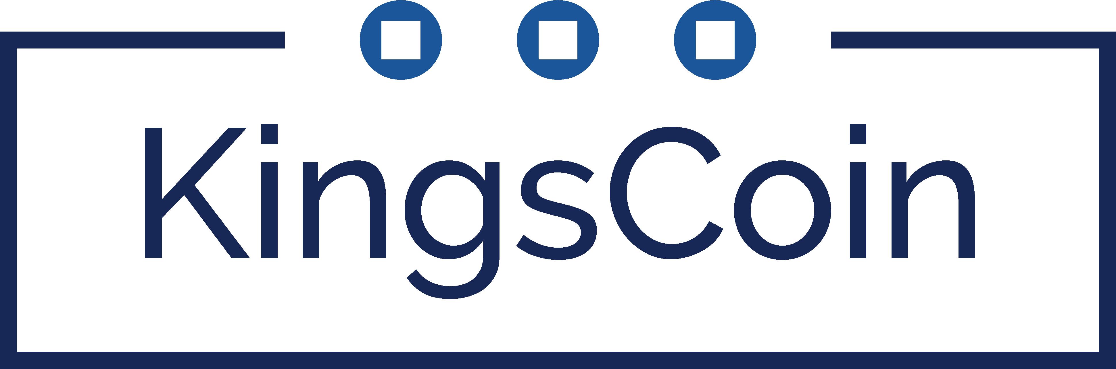 KingsCoin Blue - 400x120px